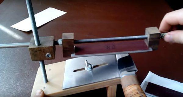 Самодельная точилка для ножей: инструкция по изготовлению