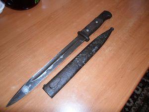 Немецкий штык-нож времен ВОВ (1941-1945): фото, история, описание