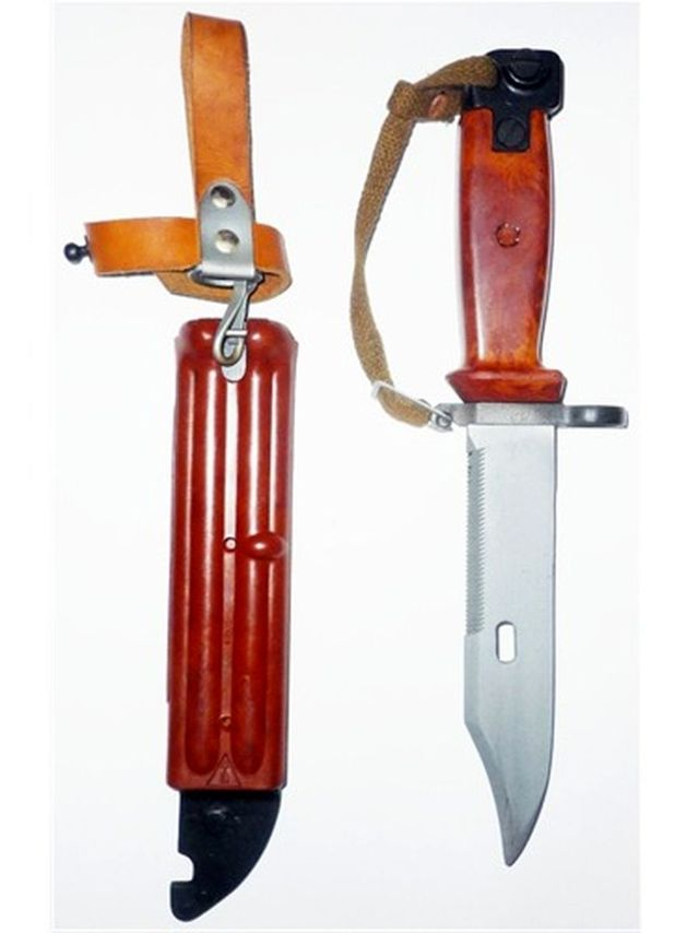 Нож НБ-2 «Шмель» из армейской боевой экипировки «Ратник»
