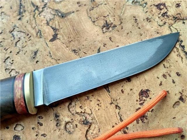 Ковка ножа из рессоры и как выточить своими руками