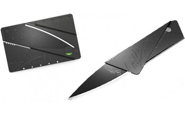 Нож кредитка (визитка): на сколько полезен складной ножик в виде кредитной карты (cardsharp)?