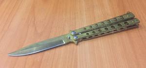 Нож-бабочка (балисонг): как выглядит, является ли холодным оружием