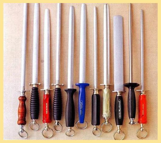Мусат для ножей: что это такое, разновидности и правила заточки