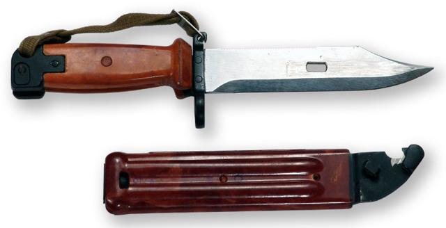 Штык нож к автомату Калашникова: конструкция и разновидности, применение
